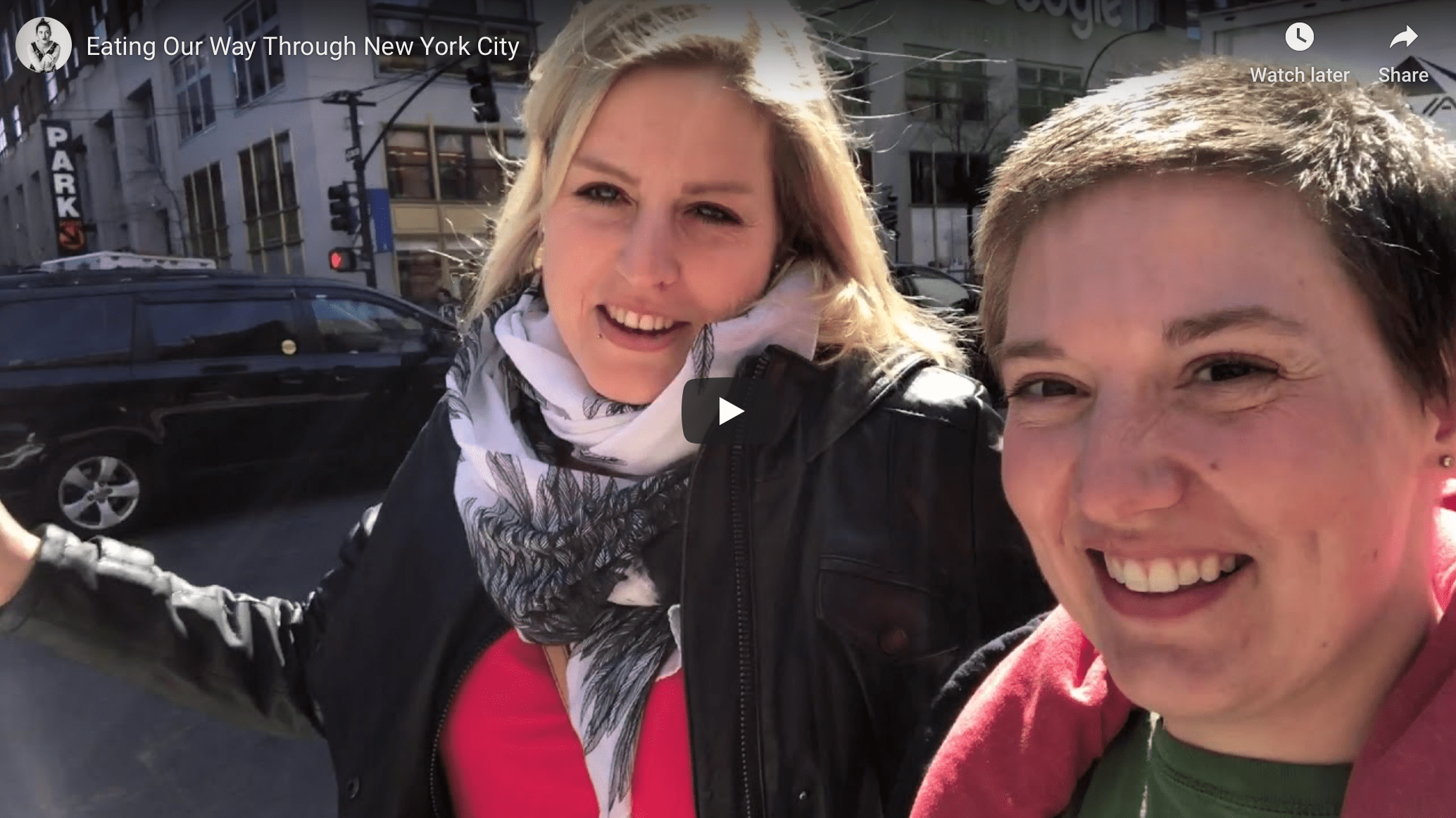 Eating Our Way Through New York City